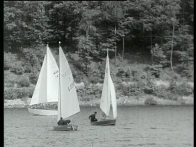 Filmbild aus Segeln auf dem Rursee