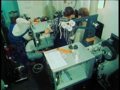 Filmbild aus Der Aula Umbaufilm